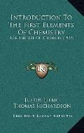 Introduction to the First Elements of Chemistry : For the Use of Students (1837)