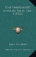 Unbekannte Judische Sekte, Part
