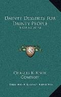 Dainty Desserts for Dainty People : Knox Gelatine