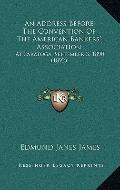 Address Before the Convention of the American Bankers' Association : At Saratoga, September ...
