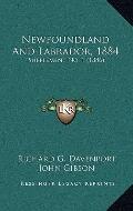 Newfoundland and Labrador 1884 : Supplement No. 1 (1886)