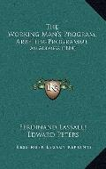 Working Man's Program, Arbeiter-Programme : An Address (1884)