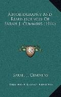 Autobiography and Reminiscences of Sarah J Cummins