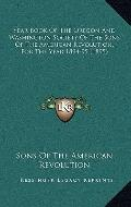 Year Book of the Oregon and Washington Society of the Sons of the American Revolution, for t...