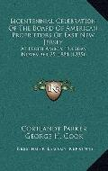 Bicentennial Celebration of the Board of American Proprietors of East New Jersey : At Perth ...