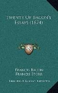Twenty of Bacon's Essays