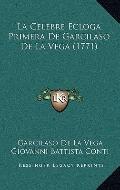Celebre Ecloga Primera de Garcilaso de la Vega