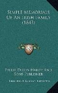 Simple Memorials of an Irish Family