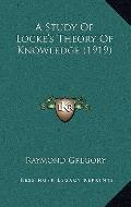 Study of Locke's Theory of Knowledge