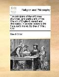 Principles of the Reformed Churches, and Particularly of the Church of England, Stated and V...
