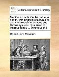Medical Extracts on the Nature of Health, with Practical Observations : And the laws of the ...