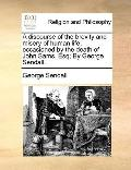 Discourse of the Brevity and Misery of Human Life, Occasioned by the Death of John Sams, Esq...