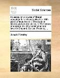 Essay on a Course of Liberal Education for Civil and Active Life with Plans of Lectures on I...