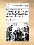 Kind Keeper; or, Mr Limberham : A Comedy