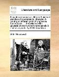 Eccentric Excursions or, Literary and Pictorial Sketches of Countenance, Character and Count...