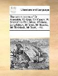 Select Poems of Dr Akenside, Mr Gray, Mr Mason, W Shenstone Esq; Mess Wartons, Ld Lyttleton,...