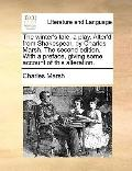 Winter's Tale, a Play Alter'D from Shakespear, by Charles Marsh the Second Edition with a Pr...