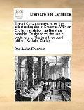Erasmi Colloquia Selecta; or, the Select Colloquies of Erasmus with an English Translation, ...