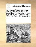 Catalogue of a Large and Curious Collection of Books, Including the Elegant Library of Georg...