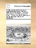Life, Voyages and Adventures of Bampfylde-Moore Carew; Commonly Called, King of the Beggars ...
