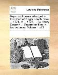 Reports of Cases Adjudged in the Court of King's Bench : From ... 1774, to ... 1778... . by ...