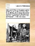 Ashby and White : Or, the great question, whether an action lies at common law for an electo...