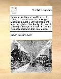 Remarks for Simon Lord Fraser of Lovat, on the Information for Hugh MacKenzie, Esq; I on the...