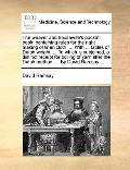 Weaver and Housewife's Pocket-Book; Containing Rules for the Right Making of Linen Cloth wit...