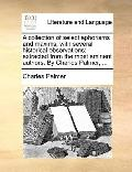 Collection of Select Aphorisms and Maxims; with Several Historical Observations : Extracted ...