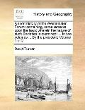 Short History of the Westminster Forum : Containing, some remarks upon the laws; wherein the...