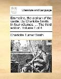 Emmeline, the Orphan of the Castle by Charlotte Smith in Four Volumes the Third Edition Volu...