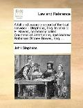 Full and Accurate Report of the Trial Between - Stephens, Esq Trustee to E Bowes, Commonly C...