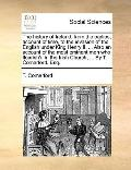 History of Ireland, from the Earliest Account of Time, to the Invasion of the English under ...