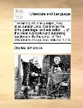 History of John Juniper, Esq Alias Juniper Jack Containing the Birth, Parentage, and Educati...