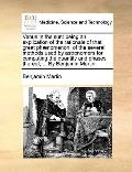 Venus in the Sun : Being an explication of the rationale of that great phænomenon; of the se...
