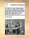 St Patrick for Ireland a Tragi-Comedy First Acted by His Majesty's Company of Comedians in t...