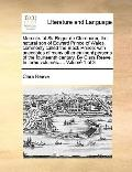 Memoirs of Sir Roger de Clarendon, the Natural Son of Edward Prince of Wales, Commonly Calle...