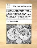 Catalogue of the Libraries of That Learned Antiquarian Edmund Sawyer, and of Several Other E...