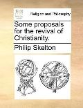 Some Proposals for the Revival of Christianity