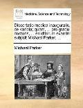Dissertatio Medica Inauguralis, de Variola; Quam, Pro Gradu Doctoris, Eruditorum Examini Sub...