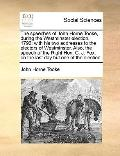 Speeches of John Horne Tooke, During the Westminster Election 1796 : With his two addresses ...