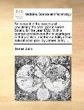 Account of the Success of Inoculating the Small-Pox in Great-Britain, for the Year 1726 with...