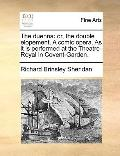 Duenn : Or, the double elopement. A comic opera. As it Is performed at the Theatre-Royal in ...