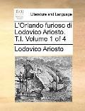 Orlando Furioso Di Lodovico Ariosto T I