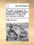 Information for Captain William Livingston of Westquarter, Pursuer, Against James Warroch, C...