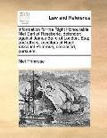 Information for the Right Honourable Niel Earl of Roseberie, Defender; Against James Baird o...
