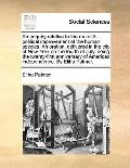 Enquiry Relative to the Moral and Political Improvement of the Human Species an Oration, Del...