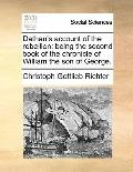 Dathan's account of the rebellion: being the second book of the chronicle of William the son...