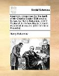 A sermon, occasioned by the death of Mr. Charles Bealer. Delivered at Euhaw, by Henry Holcom...