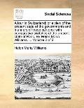 Tour in Switzerland; or a View of the Present State of the Governments and Manners of Those ...
